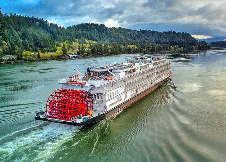 Columbia USA River Cruises