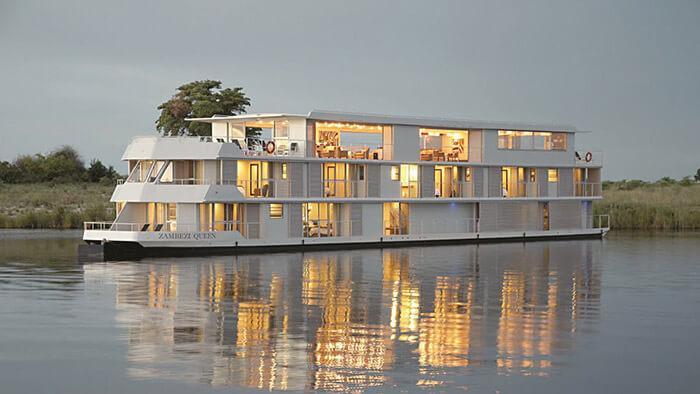 Zambezi Queen River Cruise Ship