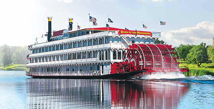 Queen of the Mississippi River Cruise Ships