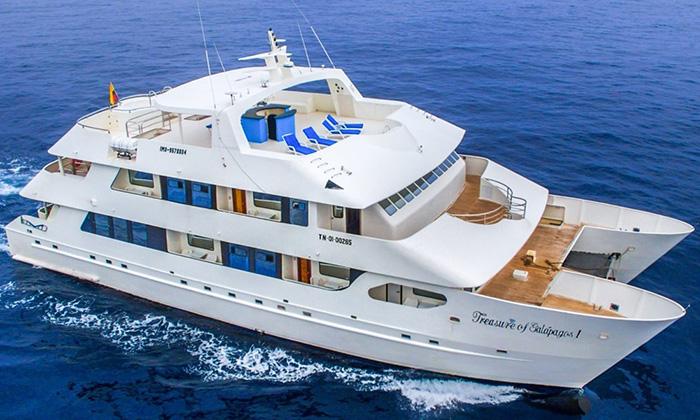 Treasure of Galapagos River Cruise Ship