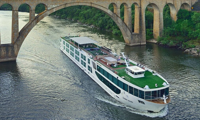 MS Scenic Azure River Cruise Ships