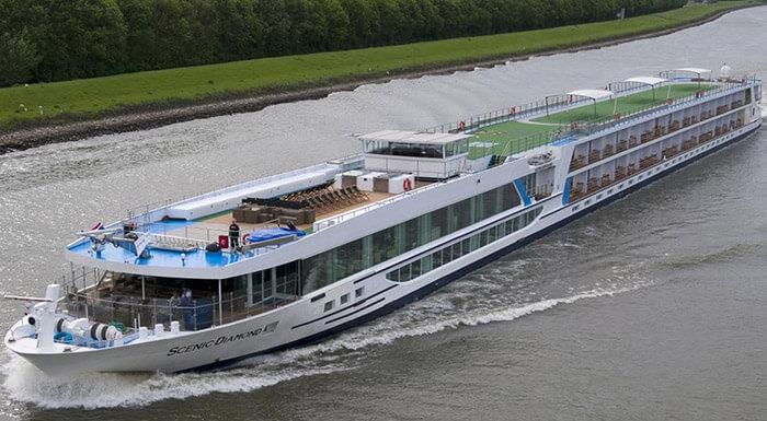 MS Scenic Diamond River Cruise Ships