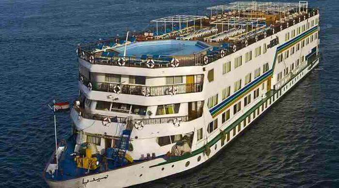 Victoria Jenna River Cruise Ship