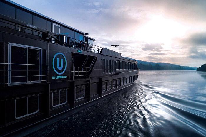 The B Ship River Cruise Ship