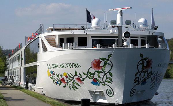 S.S. Joie de Vivre River Cruise Ship