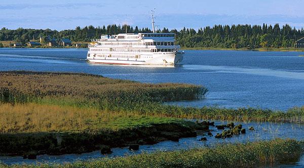 Viking Akun River Cruise Ship