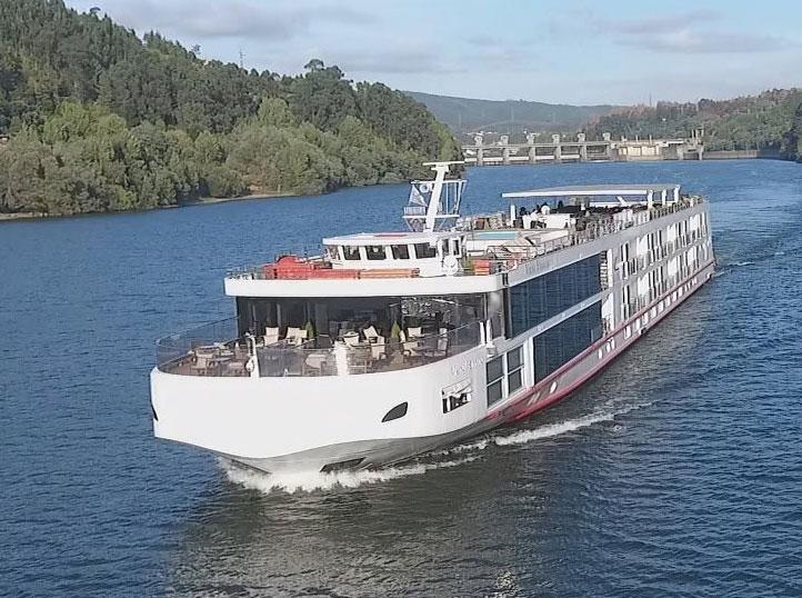 Viking Helgrim River Cruise Ship