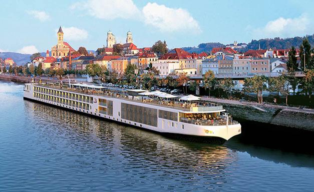 Viking Longship Aegir River Cruise Ship