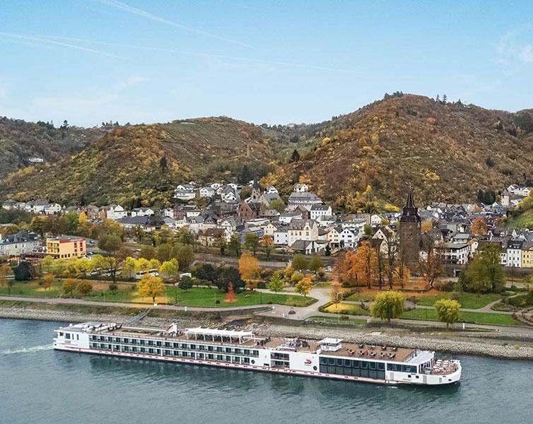 Viking Longship Alsvin River Cruise Ship