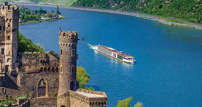 Viking Longship Baldur River Cruise Ship