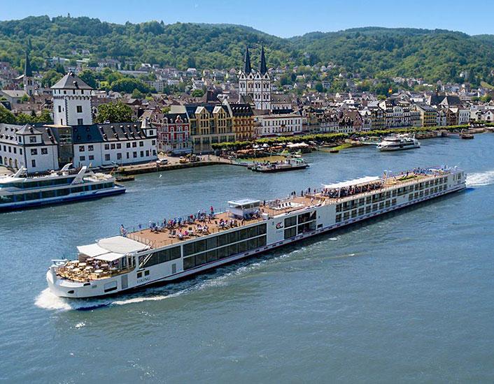 Viking Longship Buri River Cruise Ship
