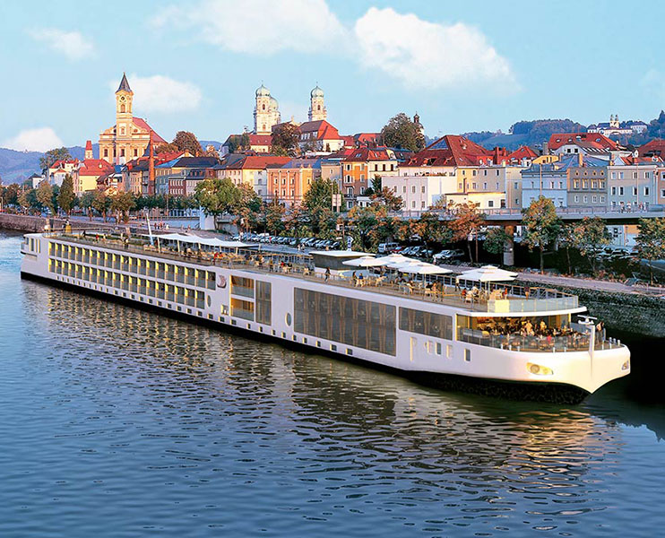 Viking Longship Forseti River Cruise Ship