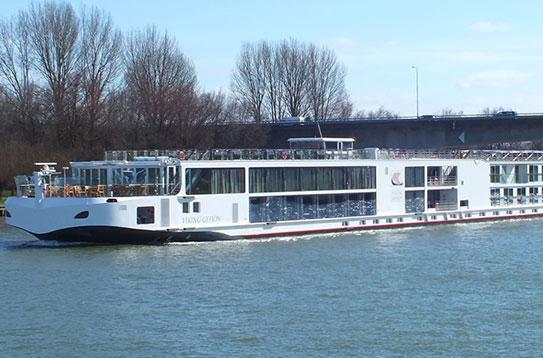 Viking Longship Gefjon River Cruise Ship
