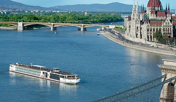 Viking Longship Gersemi River Cruise Ship