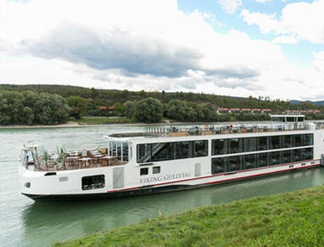 Viking Longship Gullveig River Cruise Ship