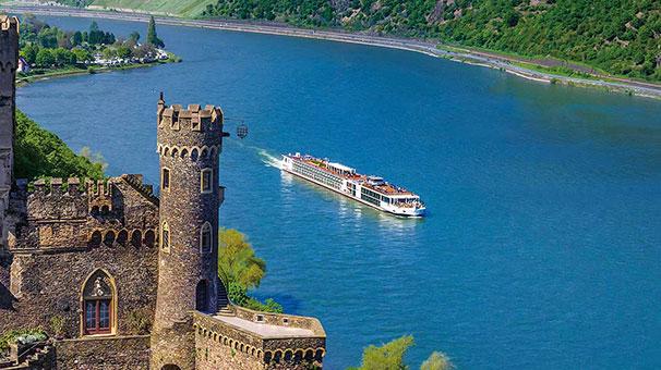 Viking Longship Herja River Cruise Ship