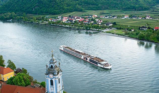 Viking Longship Hild River Cruise Ship