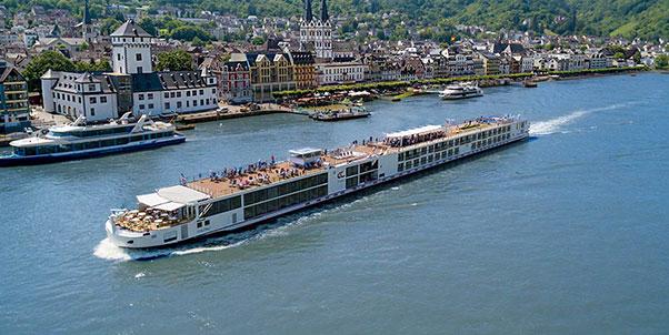 Viking Longship Hlin River Cruise Ship