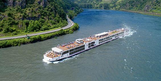 Viking Longship Idi River Cruise Ship