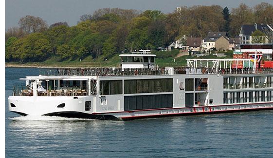Viking Longship Kvasir River Cruise Ship