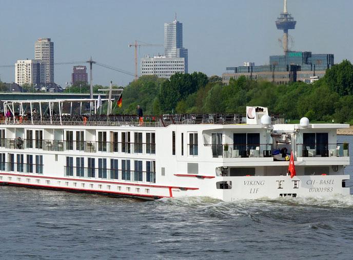 Viking Longship Lif River Cruise Ship
