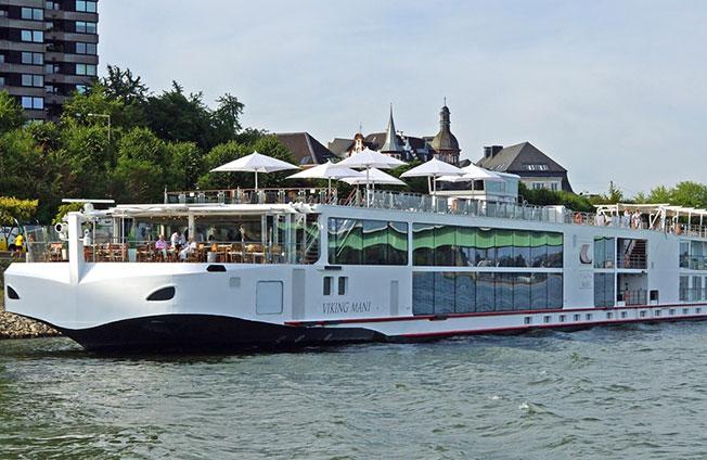 Viking Longship Mani River Cruise Ship