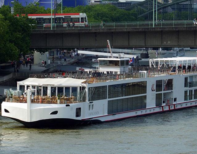 Viking Longship Rinda River Cruise Ship