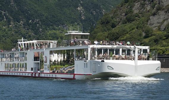 Viking Longship Rolf River Cruise Ship