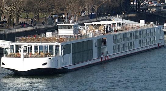 Viking Longship Skadi River Cruise Ship