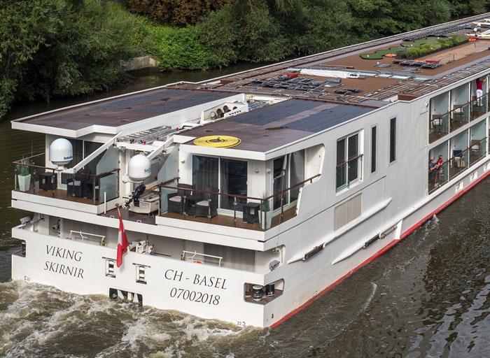 Viking Longship Skirnir River Cruise Ship