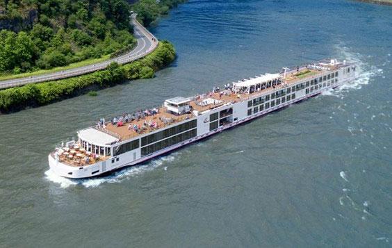 Viking Longship Tir River Cruise Ship