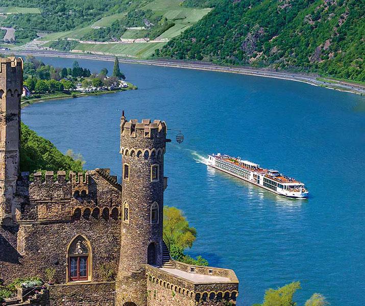 Viking Longship Tor River Cruise Ship