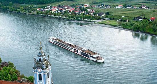 Viking Longship Ullur River Cruise Ship