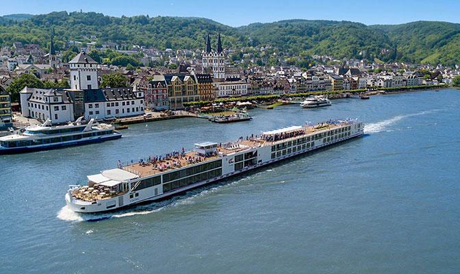 Viking Longship Vali River Cruise Ship