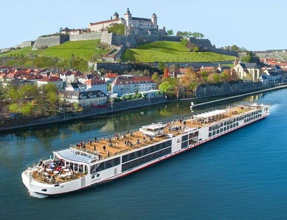 Viking Longship Var River Cruise Ship