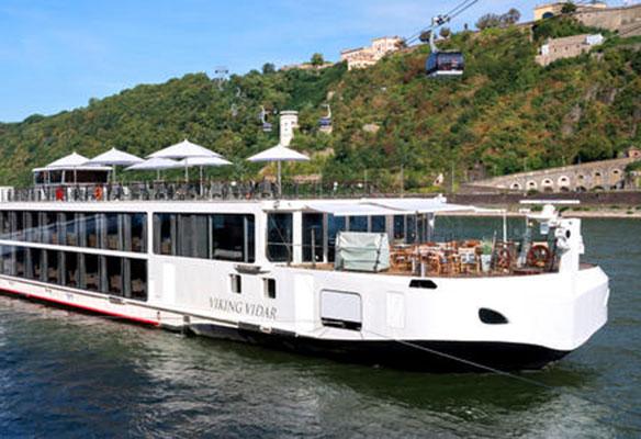 Viking Longship Vidar River Cruise Ship