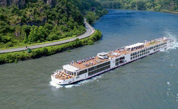 Viking Longship Vilhjalm River Cruise Ship
