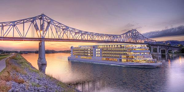 Viking Mississippi River Cruise Ship