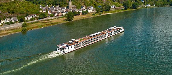 Viking Radgrid River Cruise Ship