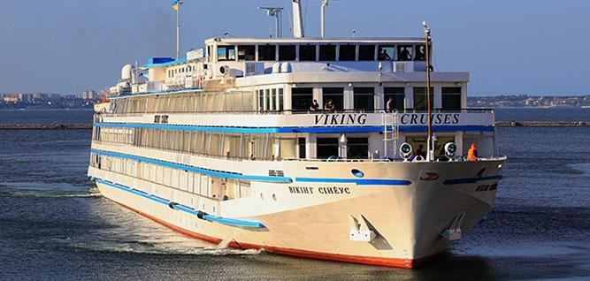Viking Sineus River Cruise Ship
