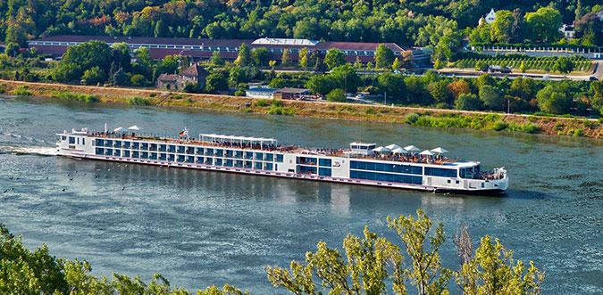 Viking Skaga River Cruise Ship